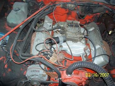 Mopar on Chrysler 413 Industrial Engine