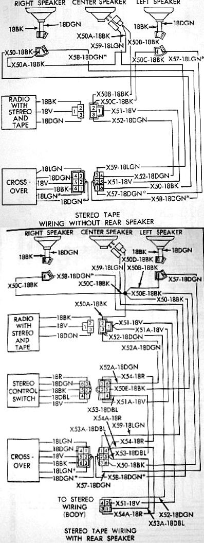 Original Speaker Harness