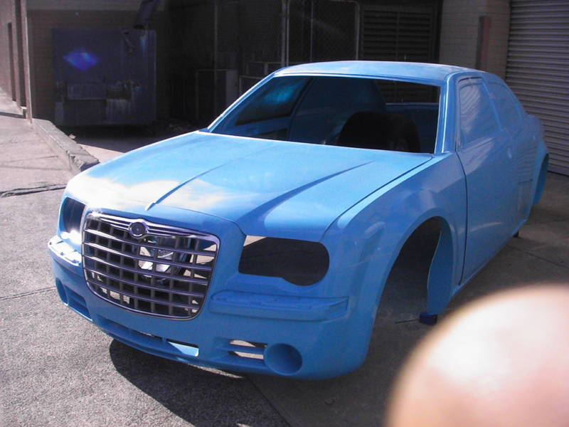 check this out.......300c racecar body... 5910135-glass300