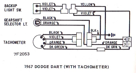 Wire Diagram Needed For A Factory Tach