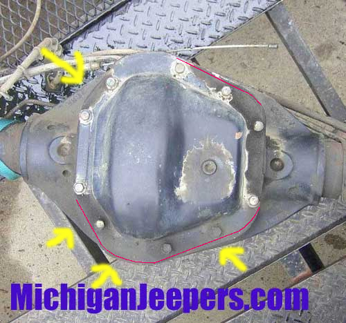 how to tell a dana 60 front