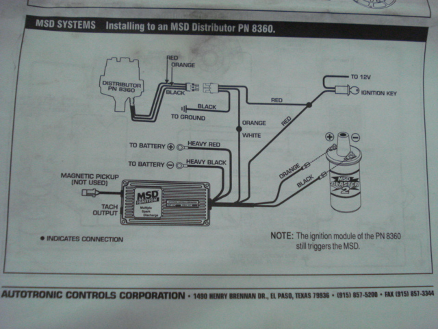 mallory comp 9000 distributor to msd ignition wiring diagram auto rh 6weeks co uk