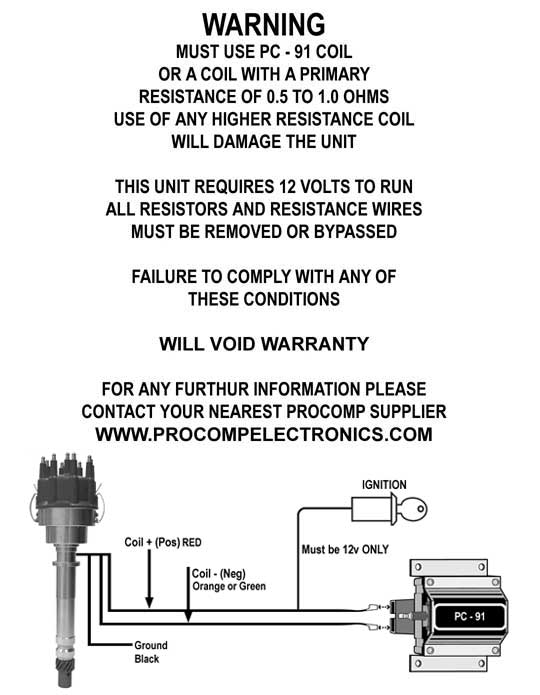 ford pro comp distributor wiring wiring diagram on the net ignition wiring diagram 3 wire distributor wiring diagram #7
