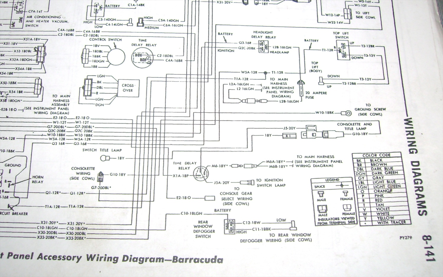 Wiring Diagram Ebody Light Switch 33 Images 1951 Plymouth 4891209 Maplightdiagram001 Need Photo 70 E Body Backside Of Dash Please Moparts 3 Way