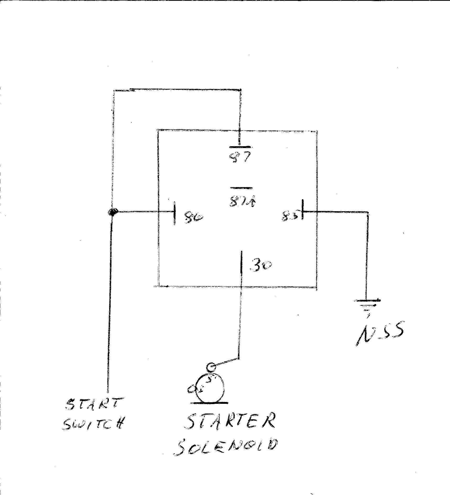 Mopar Starter Relay Wiring Diagram 34 Images Ford 7784751 Isostarter Adapting A To Solenoid Moparts