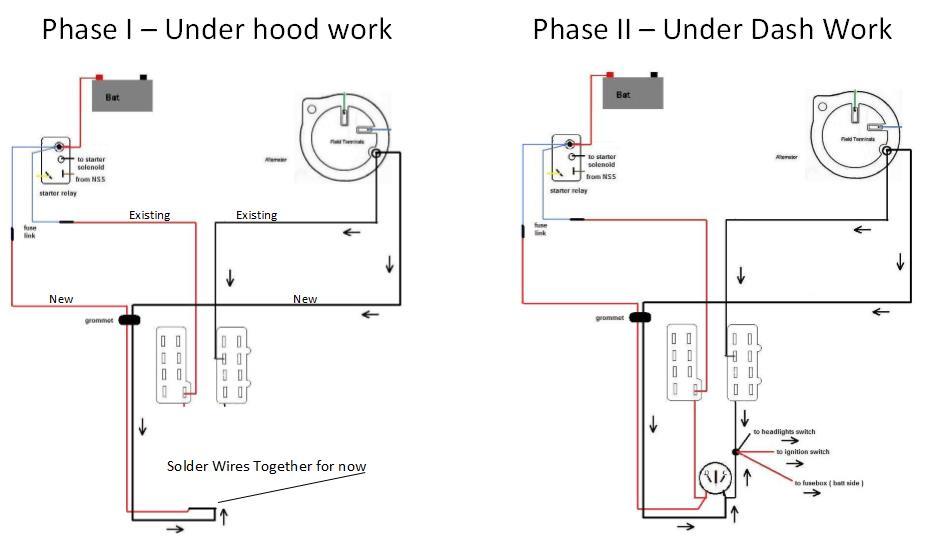 E-body Alternator  Regulator  Bypass
