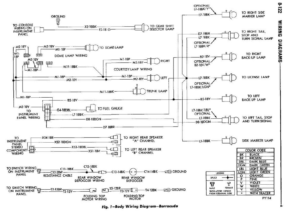 70 cuda wiring diagram   22 wiring diagram images