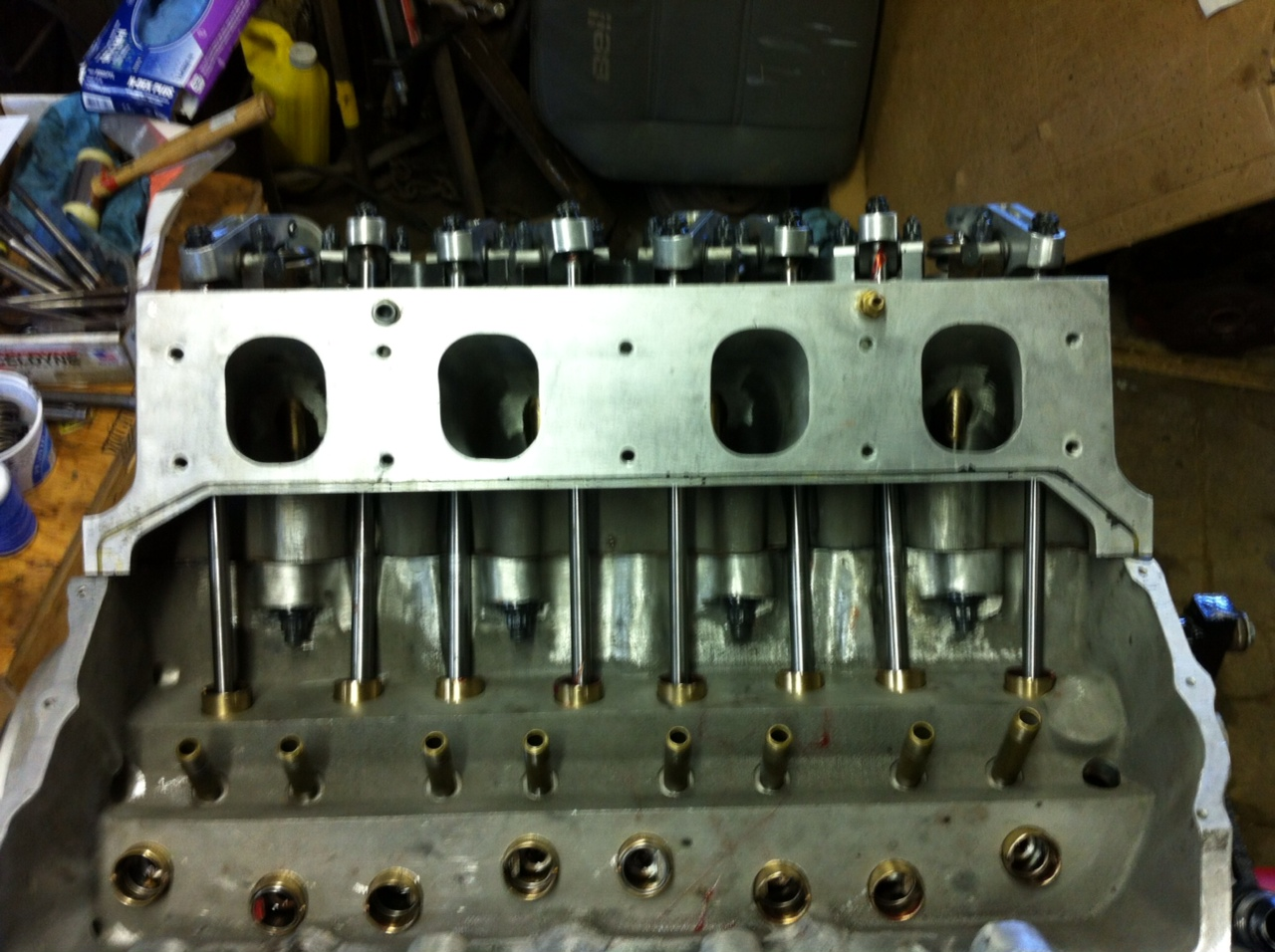 Pro Stock Heads : Pro stock mopar unlawfl s race engine tech moparts