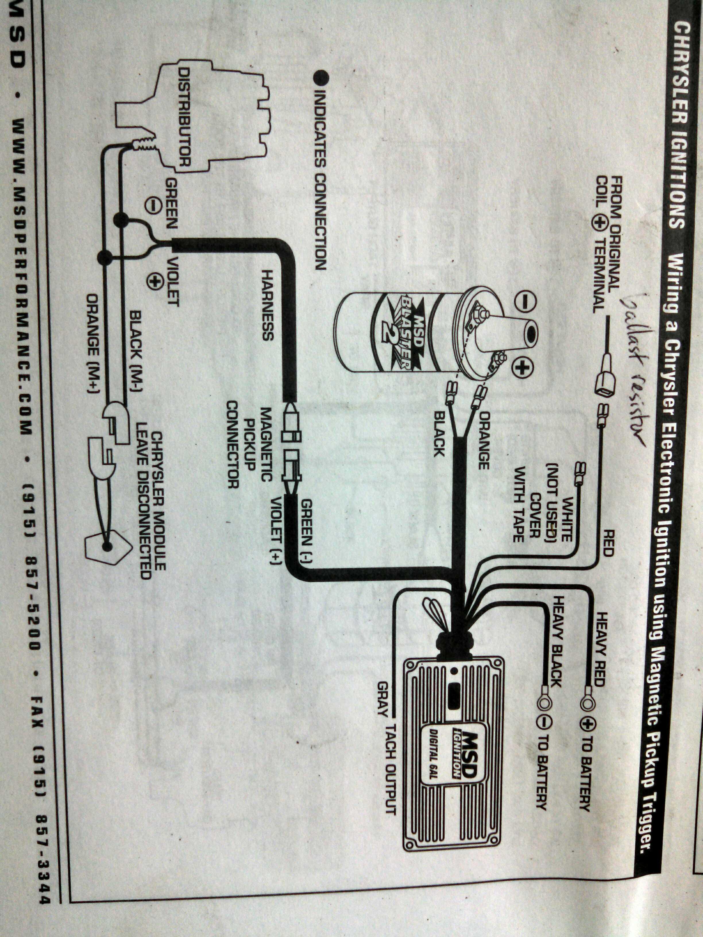 msd tach adapter wiring diagram mopar msd tach adaptor moparts forums  msd tach adaptor moparts forums