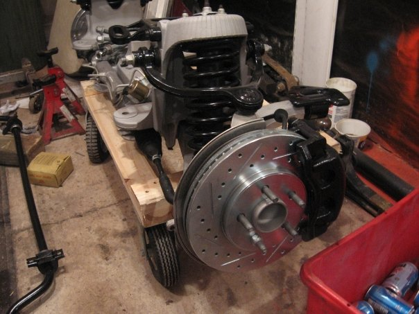 Boneyard Front Suspension | Moparts Question and Answer