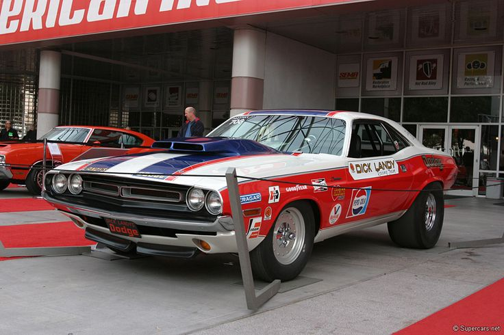 Pro Stock Challenger : Dick landy s pro stock modified t a scoop on my chally