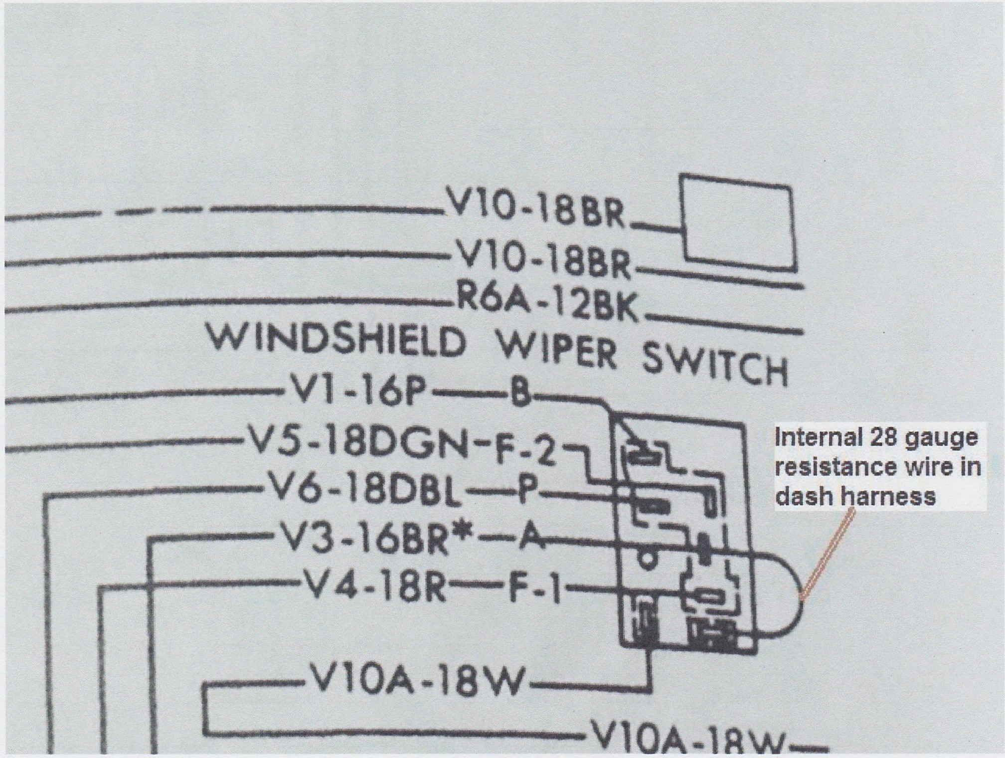 Mopar Wiper Switch Wiring Diagram Free For You Windshield Moparts Restoration A12 Forum Forums Get American Auto Wire 2 Speed Motor