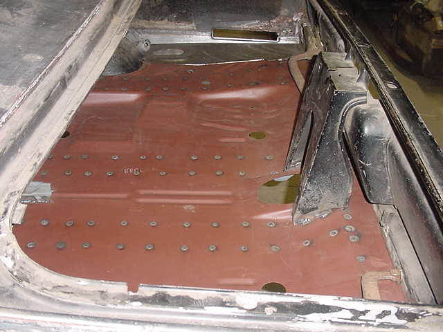 Cuda Trunk Floor Replacements Moparts Restoration Amp A12