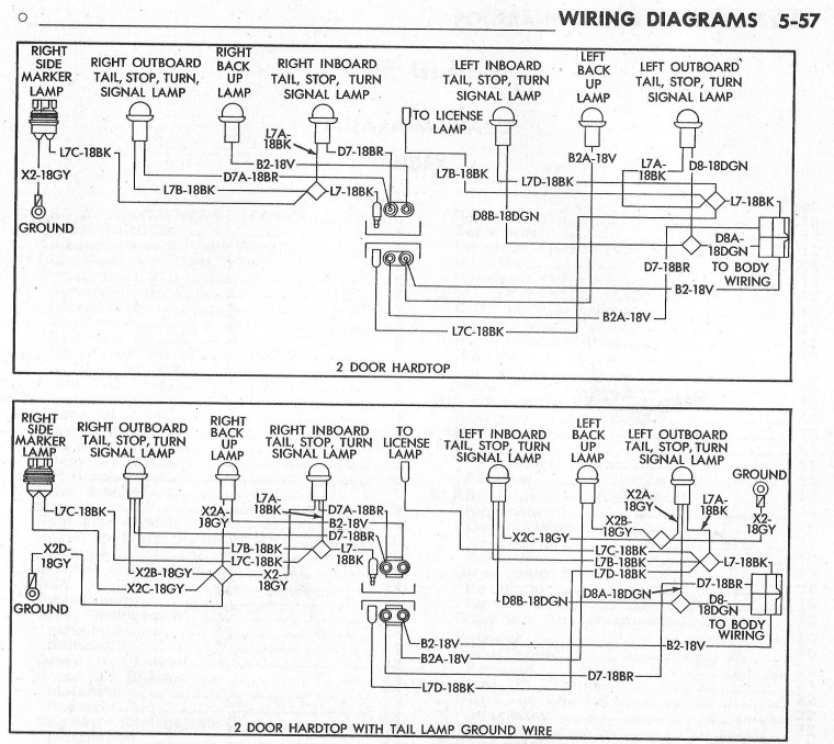 anyone have a wire harness or diagram 71 charger tail light rh board moparts org Double Switch Wiring Diagram Dodge Truck Wiring Diagram