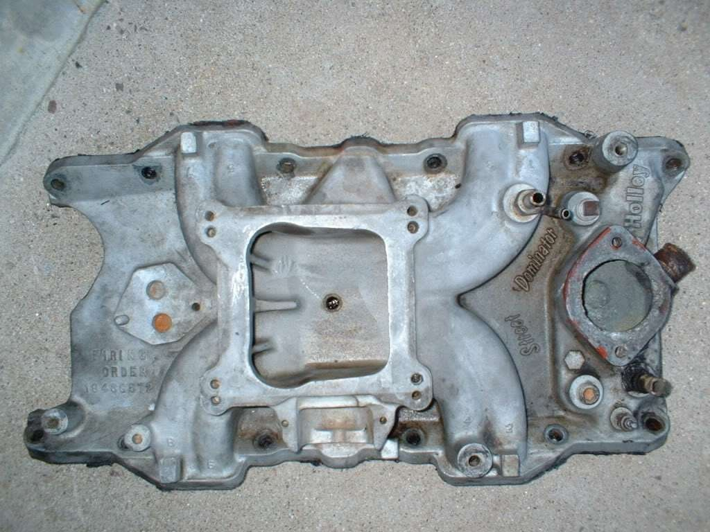 Holley Street Dominator intake for 318 info? - Moparts Forums