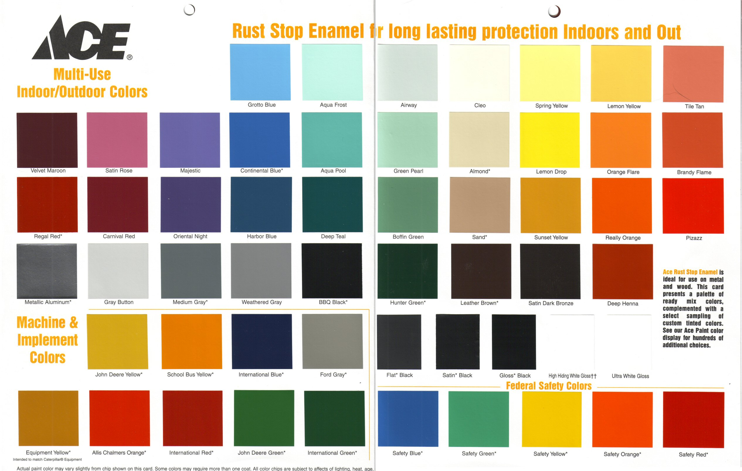 Rustoleum Spray Paint Colors For Metal Part - 37: 3476777-acecolors.jpg ...