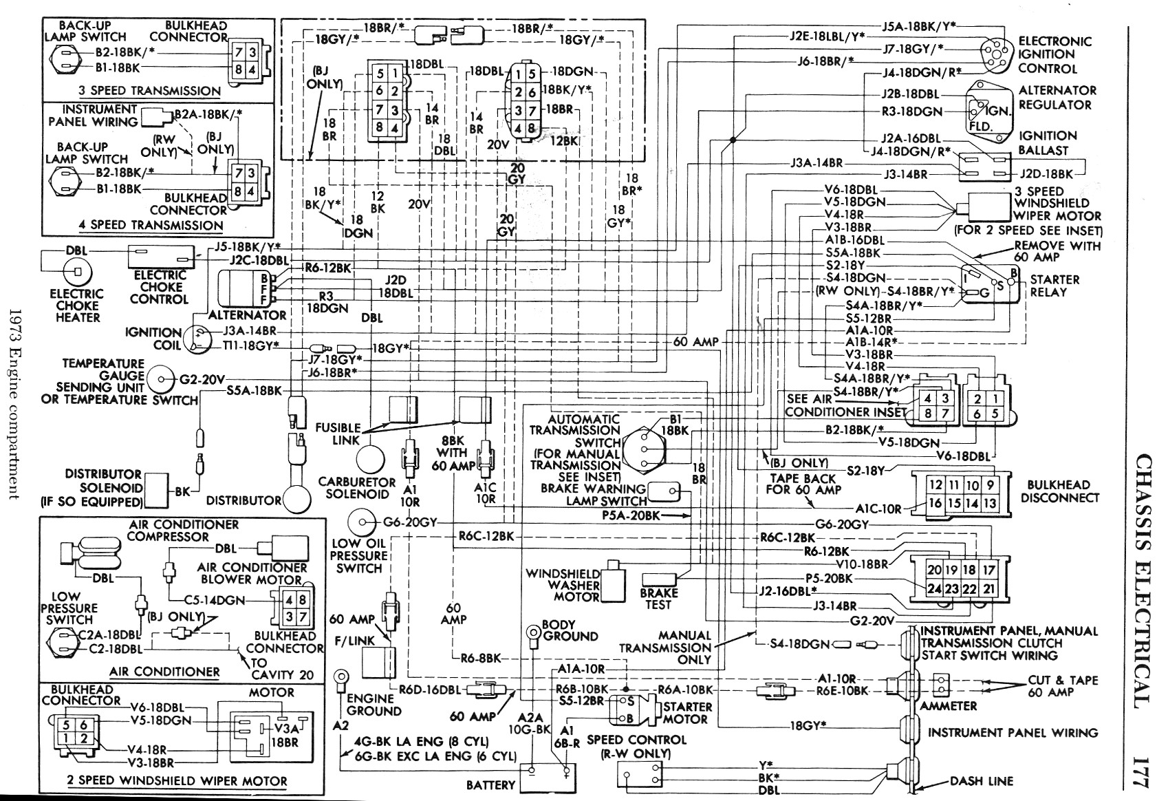 B Bodyengine partmentwiringdiagram on 1970 chevy alternator wiring diagram