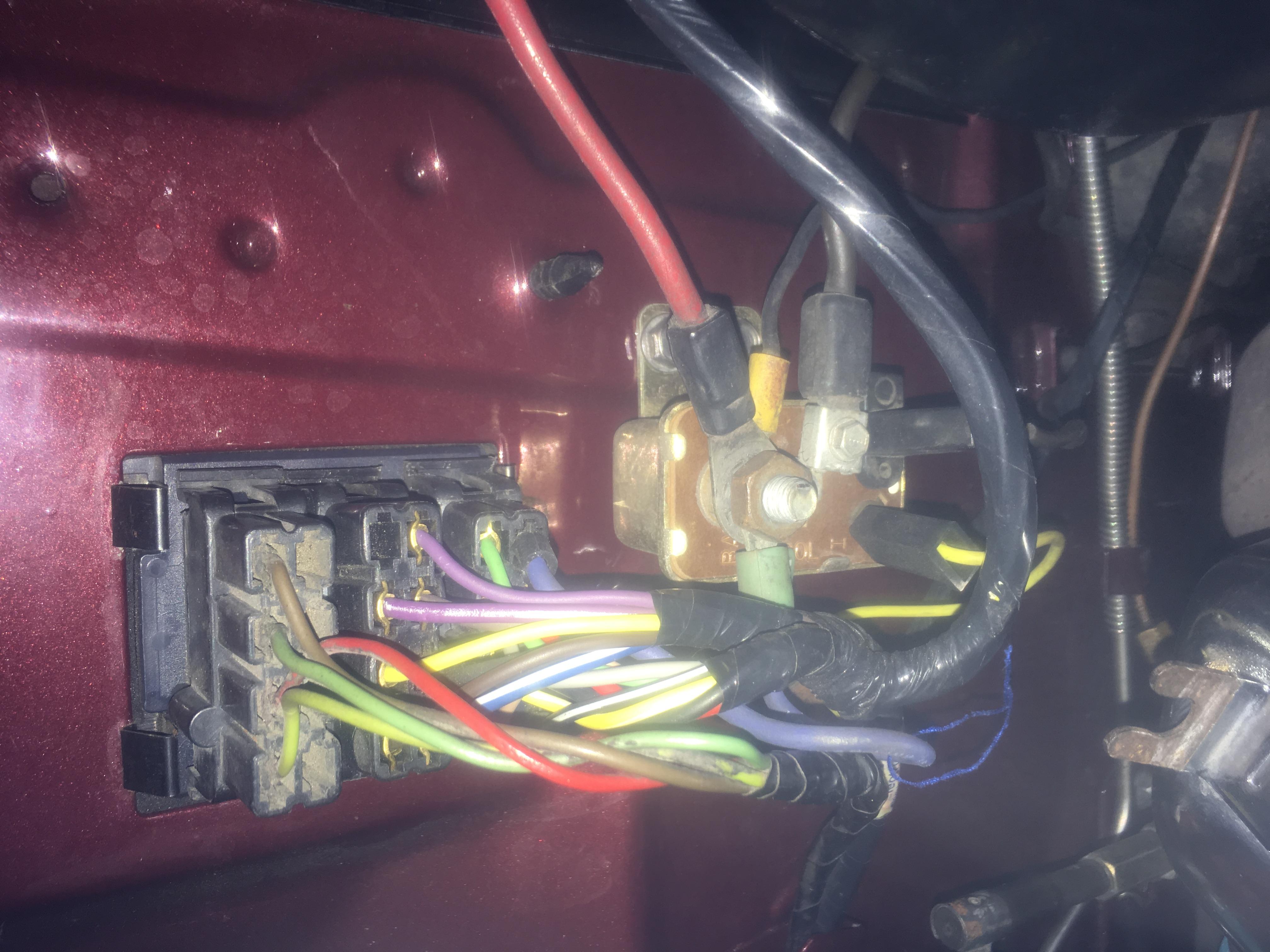 Alt bat to Starter bat byp wiring - Moparts Forums Wiring In Bat on
