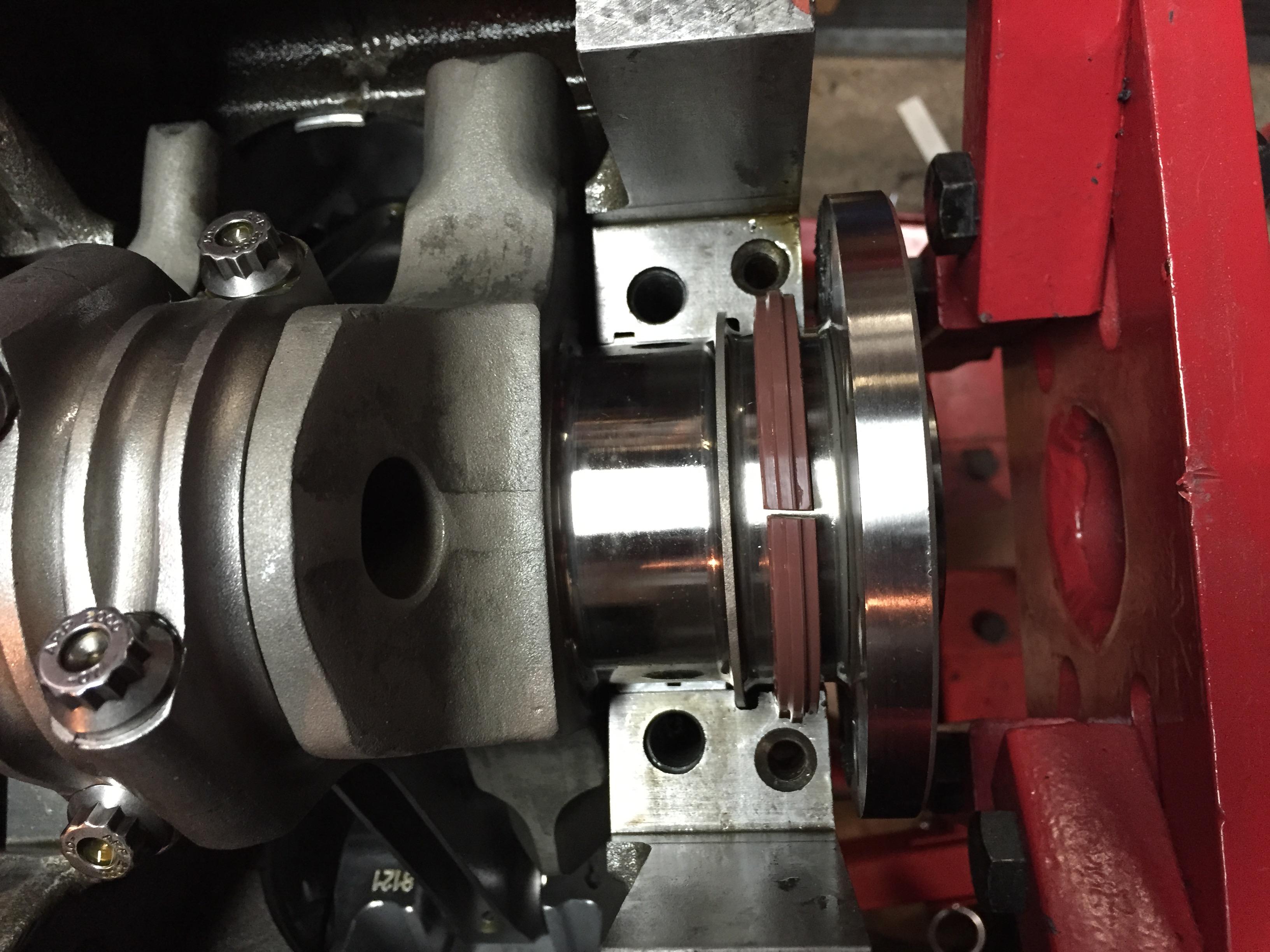 Rear main seal leak 8^( | Unlawfl's Race & Engine Tech