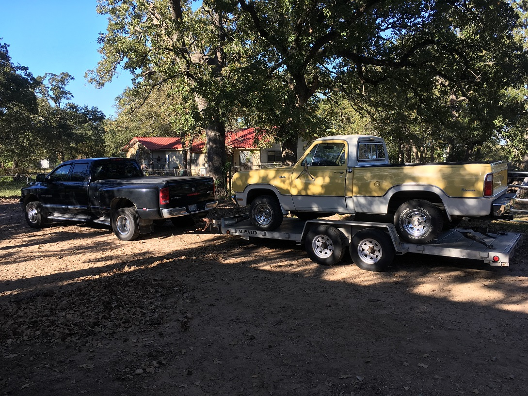 Picking up Power Wagon in TX.jpg
