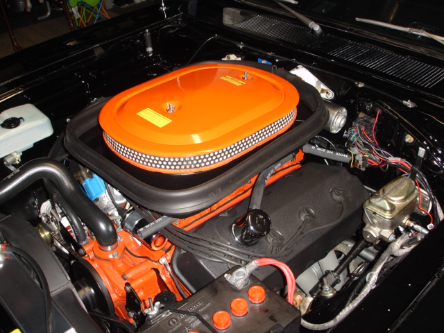 mopar six pack air cleaner