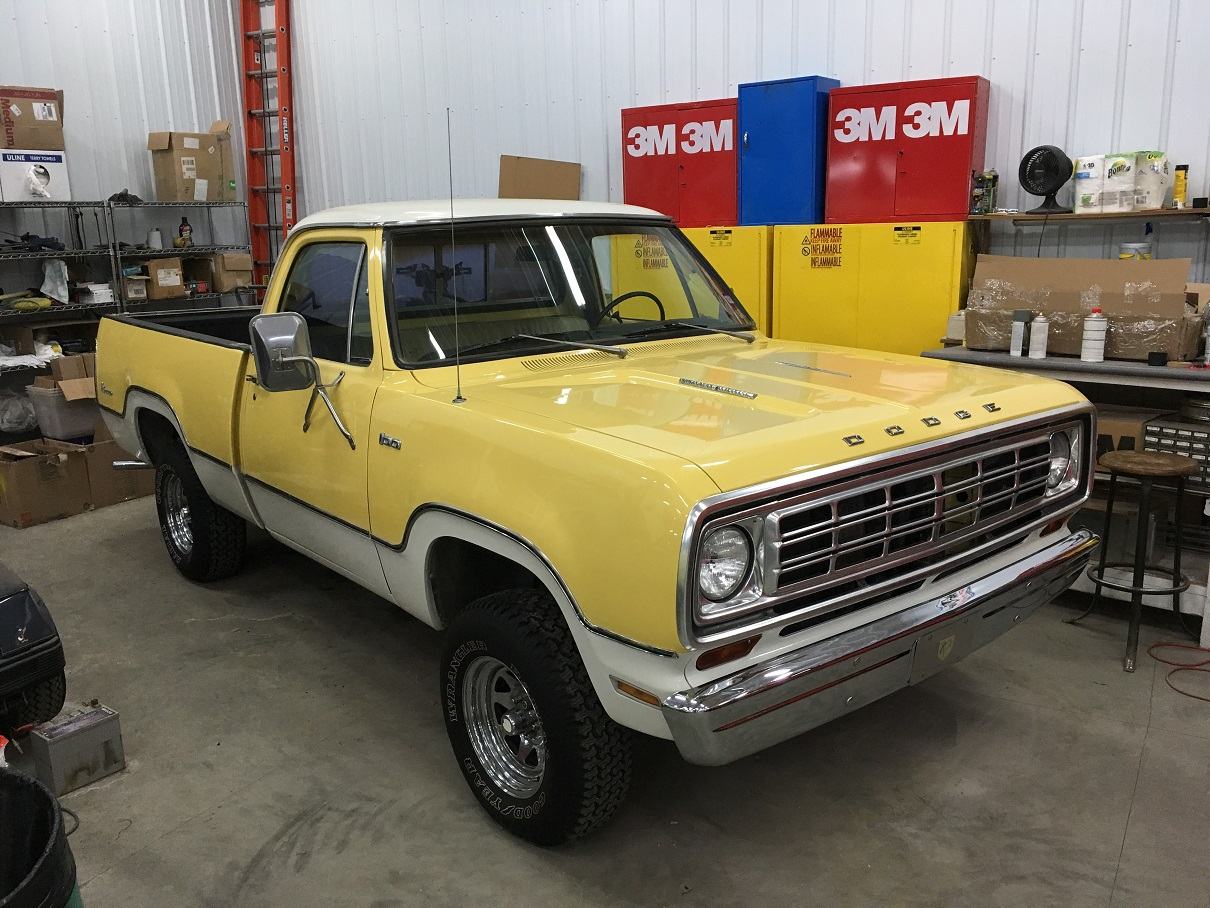 75 Power Wagon in the shop.jpg
