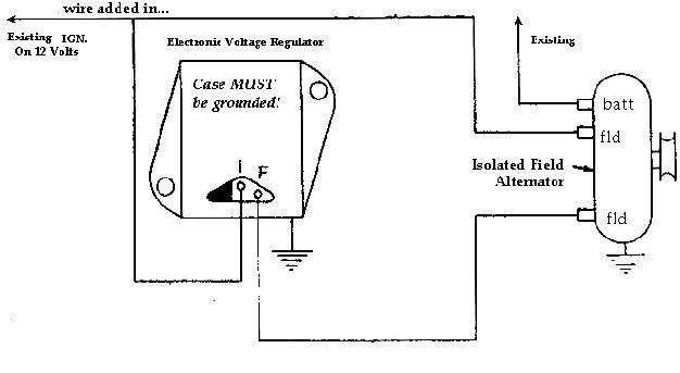 chrysler voltage regulator wiring wiring diagram table  external voltage regulator wiring chrysler #2