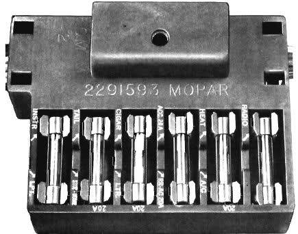 73 duster fuse designation - moparts forums  moparts forums