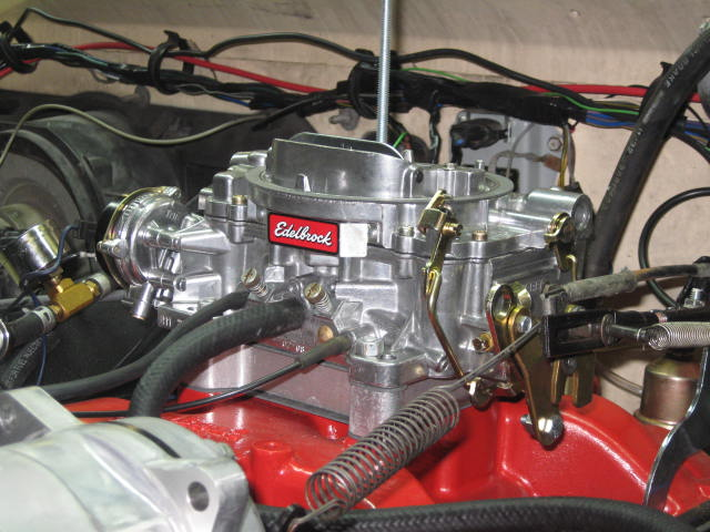 off idle stumble with Edelbrock 750 -UPDATE -FIXED - Moparts