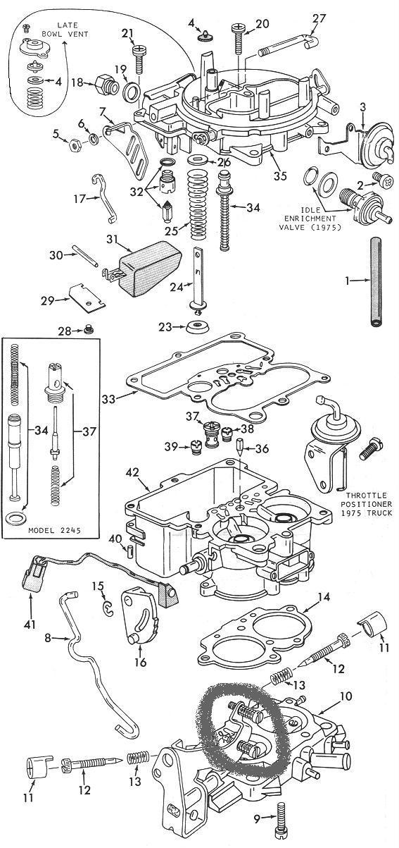 holley 2210 carburetor adjustment