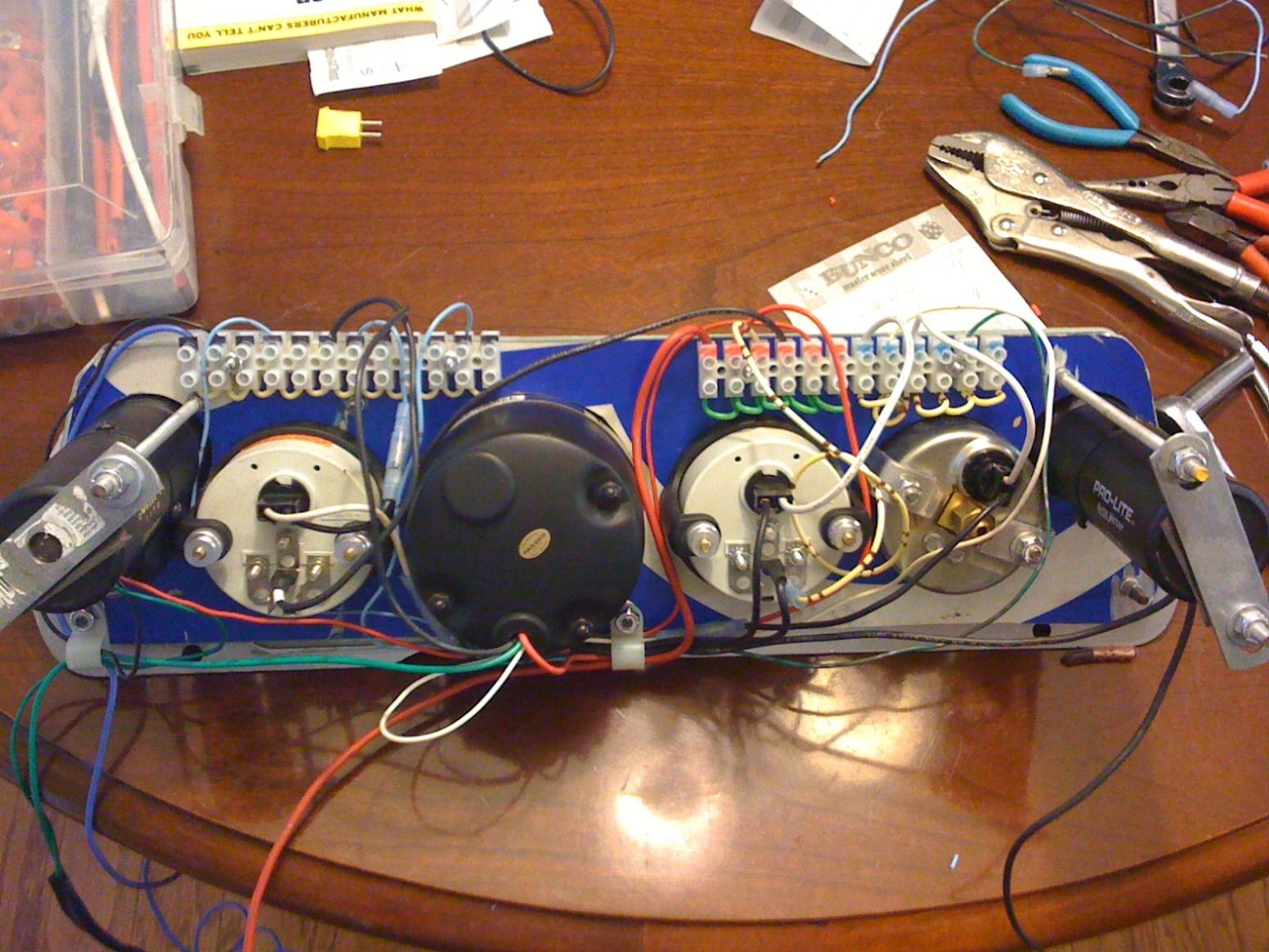 Race Car Wiring Unlawfls Engine Tech Moparts Forums Painless Switch Panel 5757407 Gaugepanel3