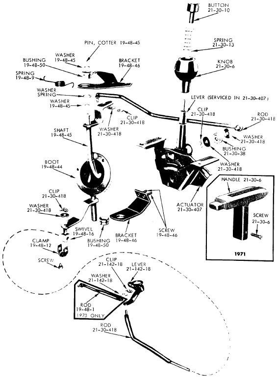 lower torque arm transmission bracket for aar