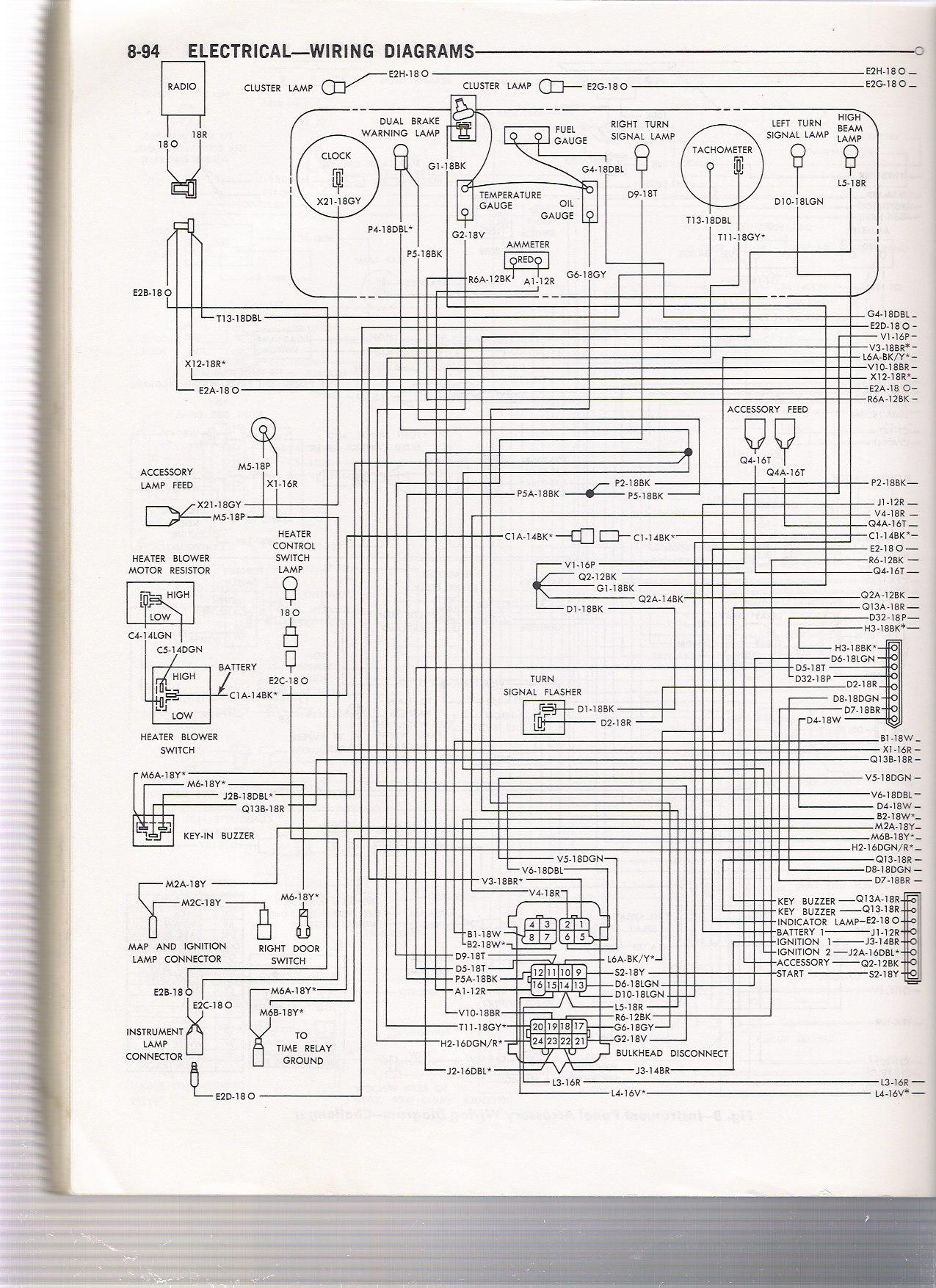 wiring diagram e body light switch challenger cuda 1970