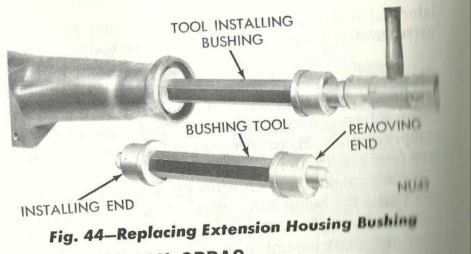 replacing tailshaft bushing - Moparts Forums