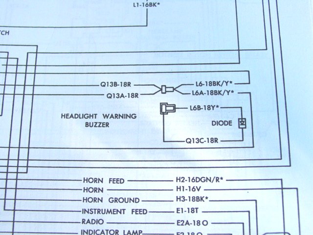 Head Lamp Warning Buzzer Wiring  101 - Moparts Forums