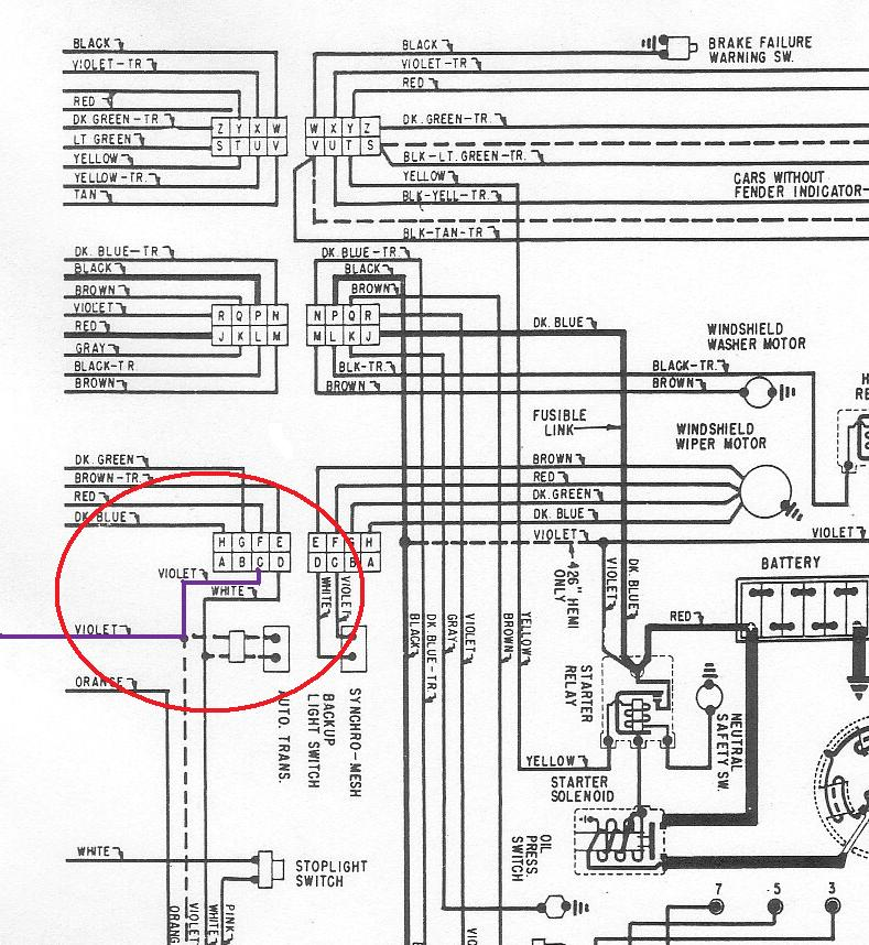5884752 backuplight where is the back up light switch on a 68 satellite? moparts 1967 Plymouth Satellite Wiring Diagram at gsmportal.co