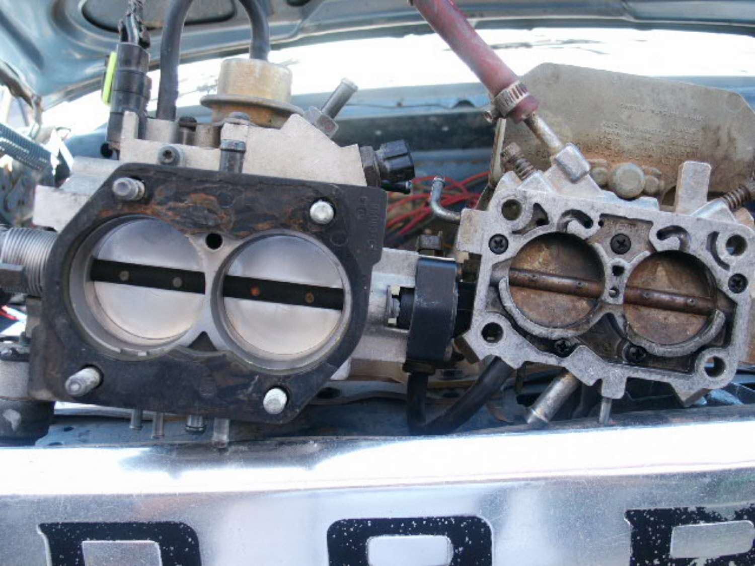 adapting TBI to a 383/400 big block? anyone done it? - Moparts Forums