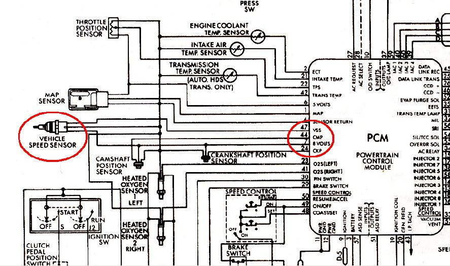 [ANLQ_8698]  Speed Sensors on A518's - Moparts Forums | Viper Vss Wiring Diagram |  | Moparts