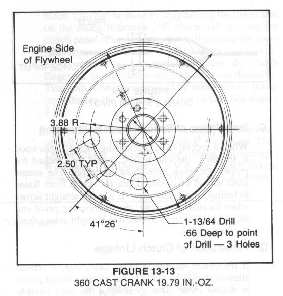 318 to 360  use same flywheel