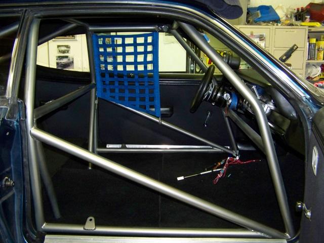 Race Car Window Net Installation