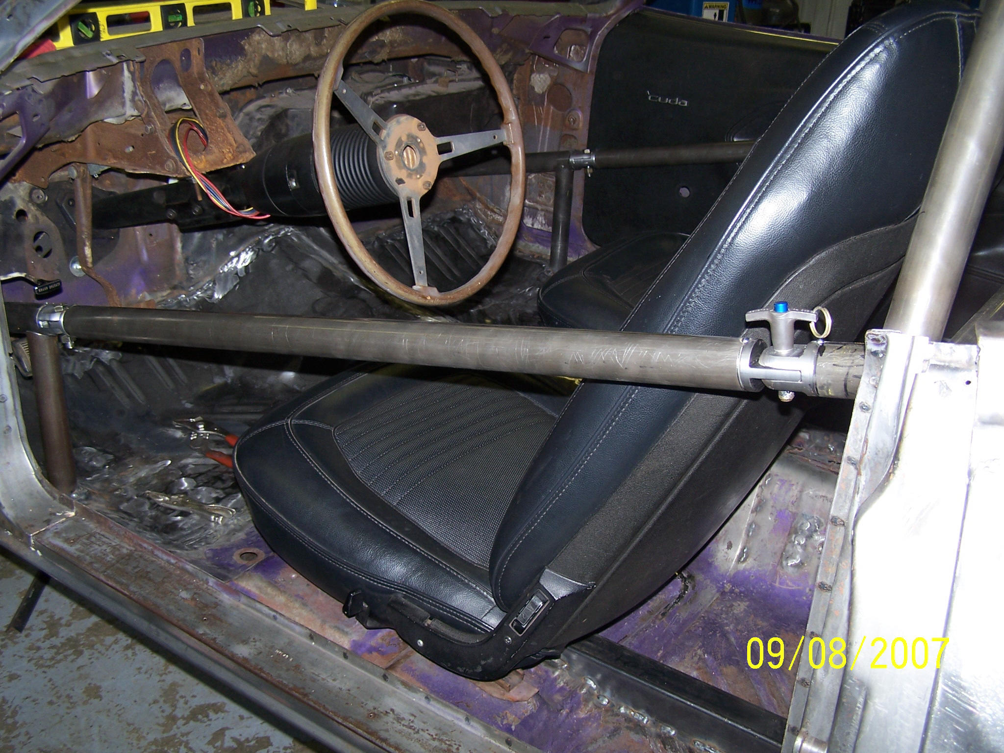 Picture of: Roll Cage Side Bar Swing Outs Moparts Forums